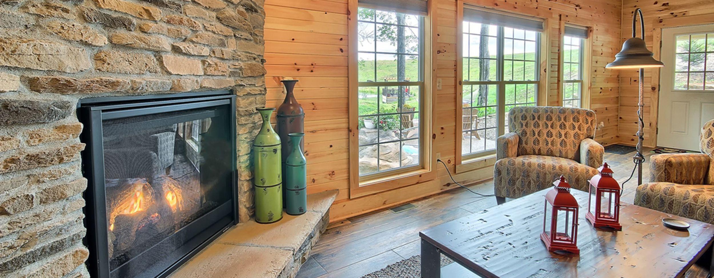 Interior Comforts Hocking Hills Luxury Lodge and Cabins