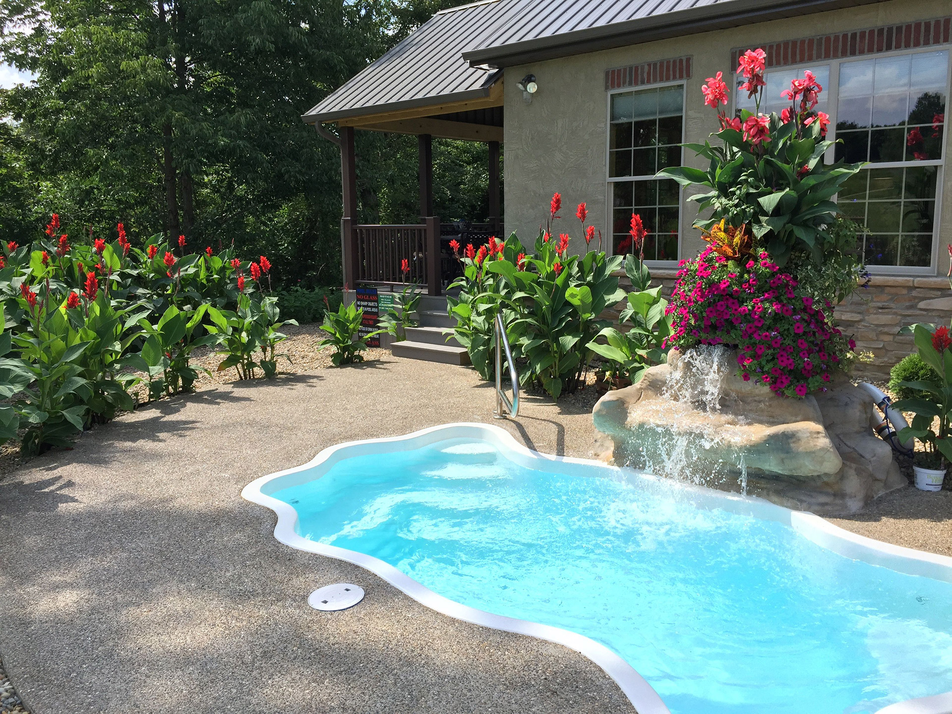 pools cabins mountain n splash play indoor private pool with smoky