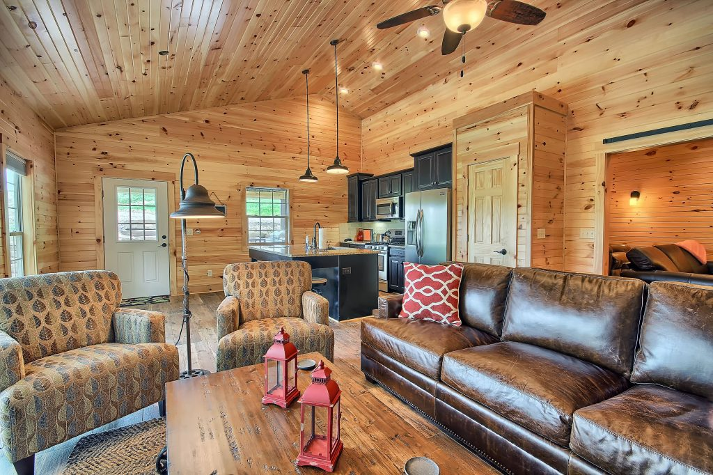 Interior Comforts Hocking Hills Luxury Lodge and Cabins